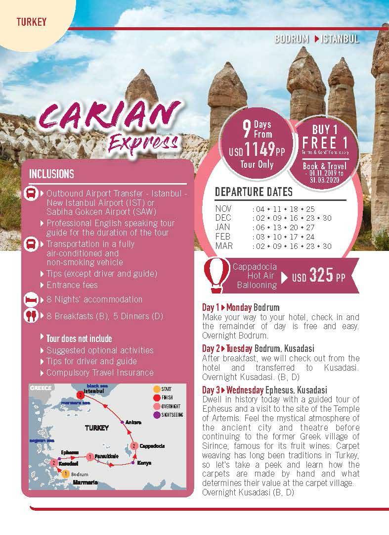11 Turkey 09 Days Carian