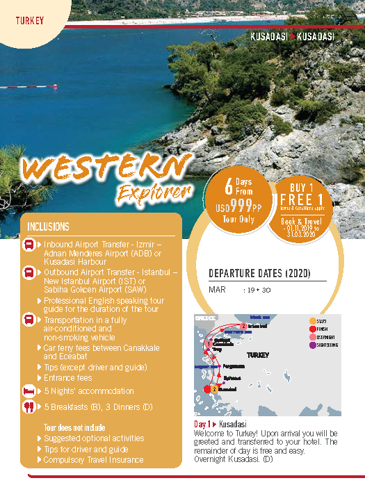 MyJourneys Turkey 06 Days Western
