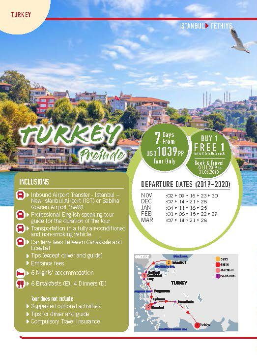MyJourneys Turkey 07 Days Turkey Prelude
