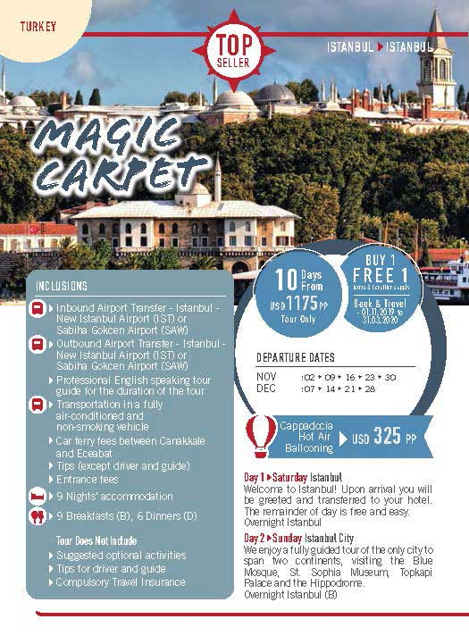 Turkey 10 Days Magic Carpet 1