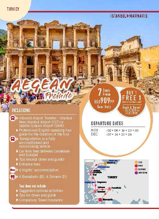 Turkey 7 Days Aegean Prelude 1
