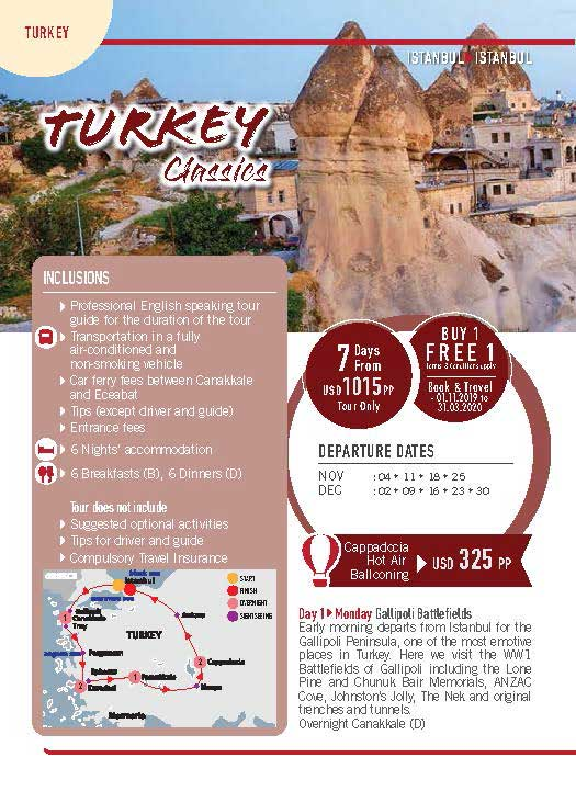 Turkey 7 Days Turkey Classics 1