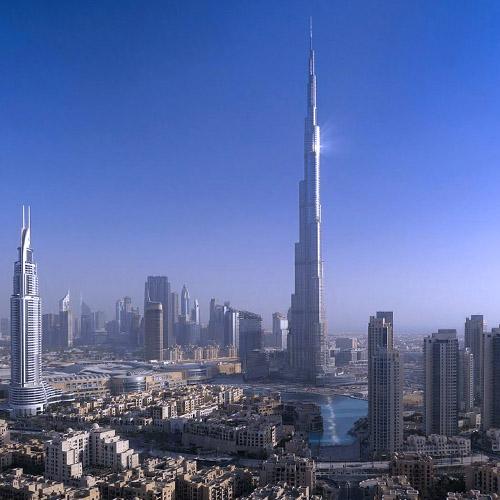 Travel to UAE Btn BURJ KHALIFA