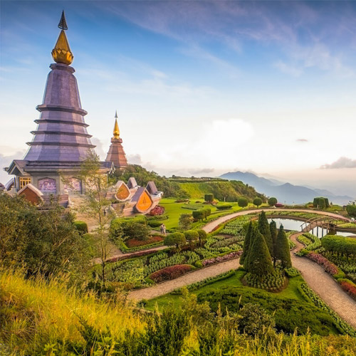 Muslim Packages DOI INTHANON NATIONAL PARK TH
