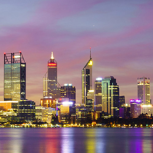 Muslim Packages PERTH AT NIGHT