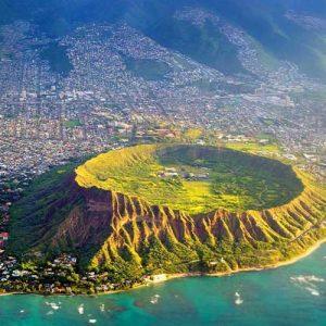 Travel to Hawaii Btn USA Diamond Head