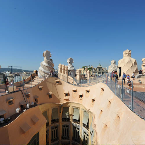 Travel to Spain Btn Casa Mila