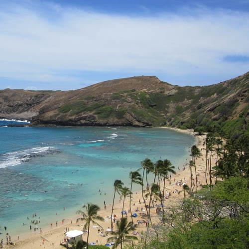Travel to Hawaii btn hanauma bay