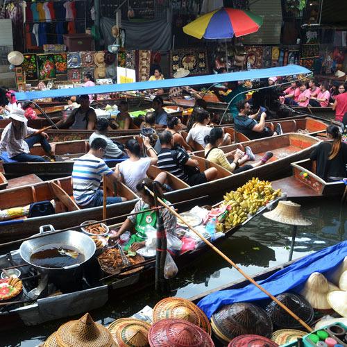 Muslim Packages Btn bangkok floating market