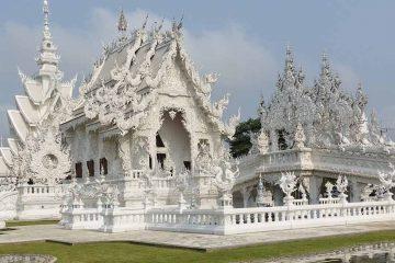 5D4N Chiang Mai & Chiang Rai Tour LP Thailand White Temple