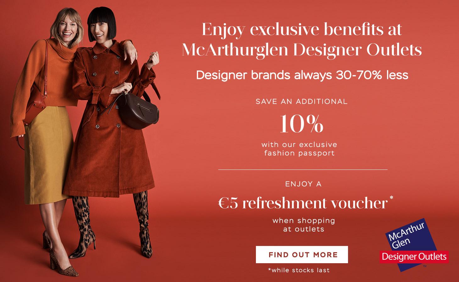 McArthurglen Designer Outlets McArthurglen