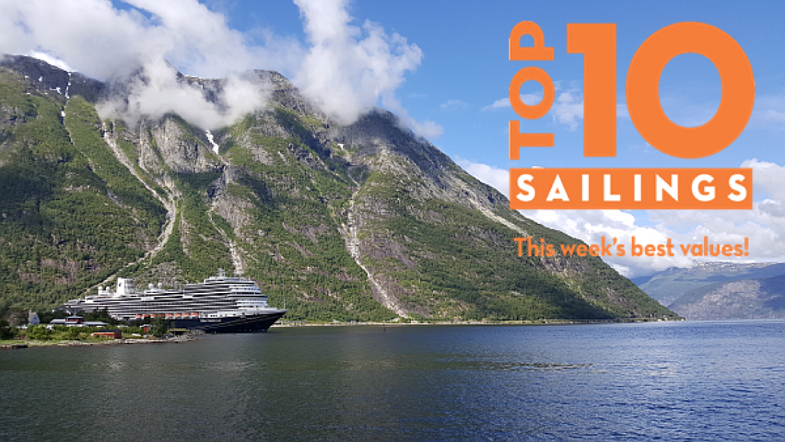 Holland America Line - Top 10 Sailings Promotion tets