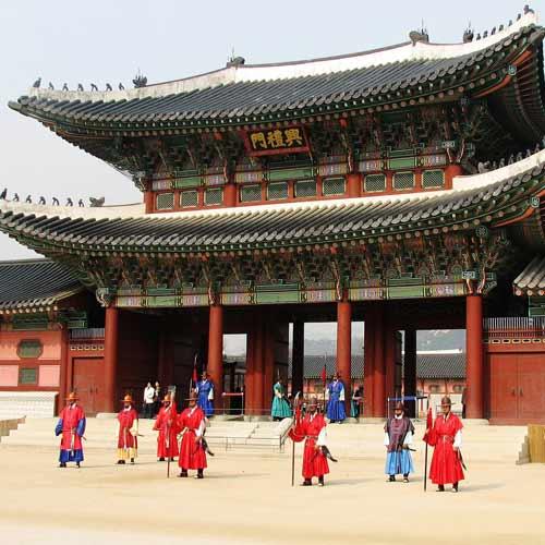 Muslim Packages Btn gyeongbokgung korea