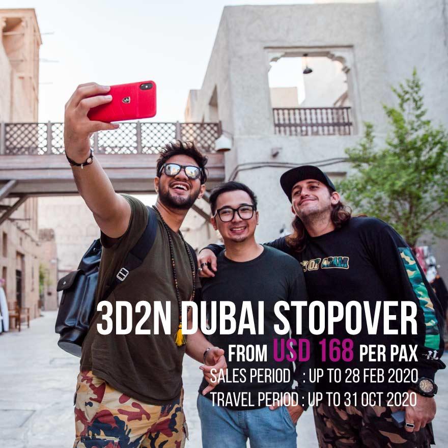 UAE BTN Dubai Stopover