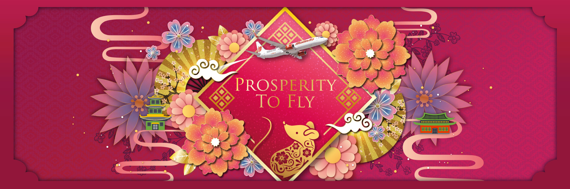 Prosperity to fly with Malindo Air cny 20
