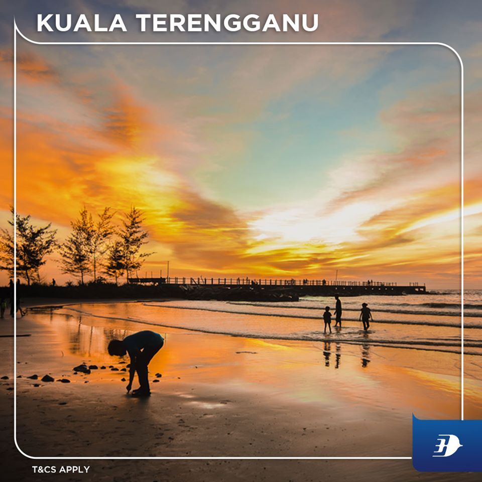 Malaysia Airlines Leap-Year Weekend Sale – 40% off fares MH KUALA TERENGGANU