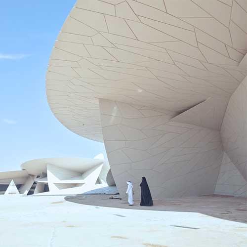 Qatar Optional Tour QATAR NATIONAL MUSEUM WIDE 2