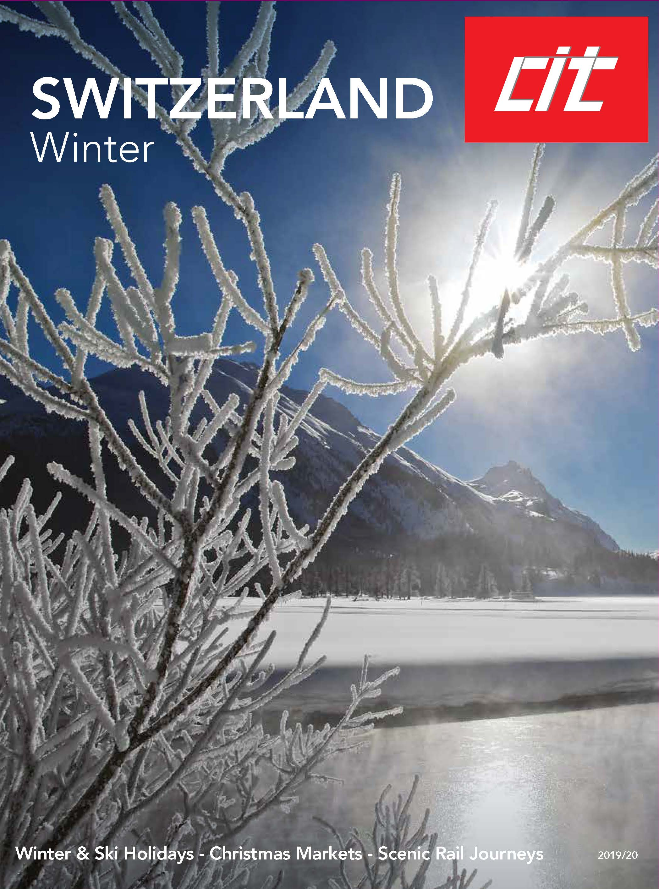 Travel to Switzerland STC 30 03 2020 Winter Packages CIT