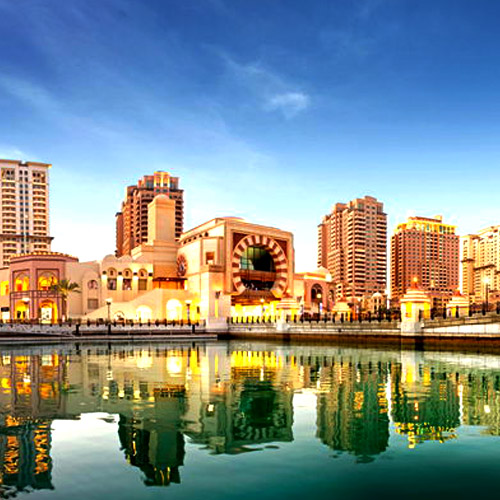 Travel to Qatar THE PEARL QA