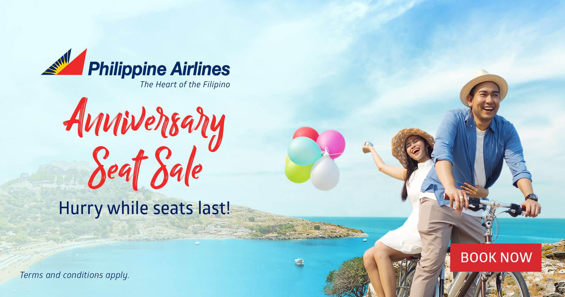 Philippine Airlines Anniversary Seat Sale 1900x1000 00