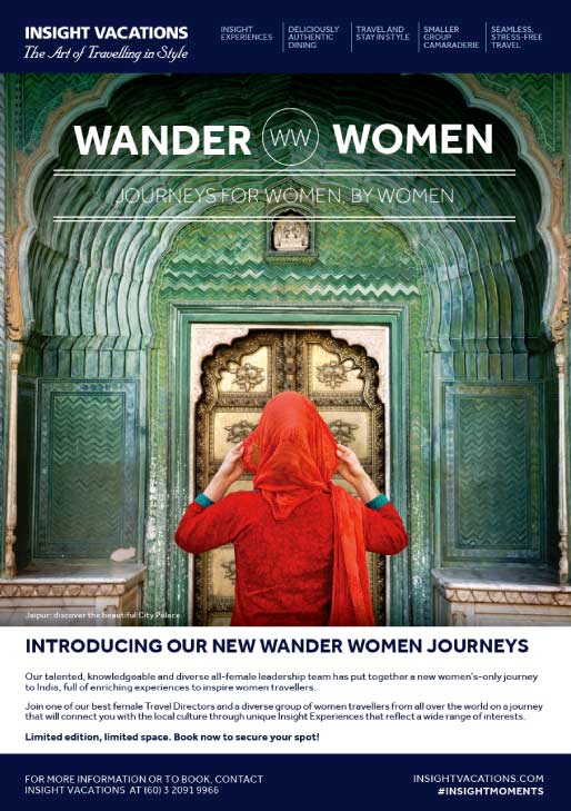 Insight Vacations – Wonder Women IV wander women