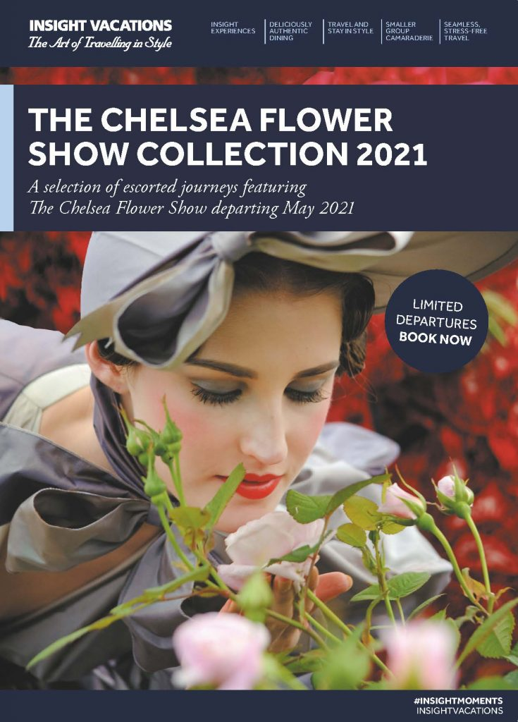 Insight Vacations CIT Chelsea Flower Show 2021