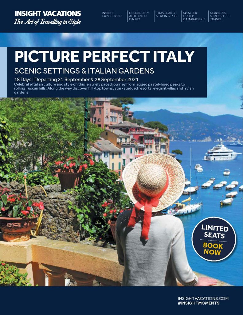 Insight Vacations CIT Picture Perfect Italy
