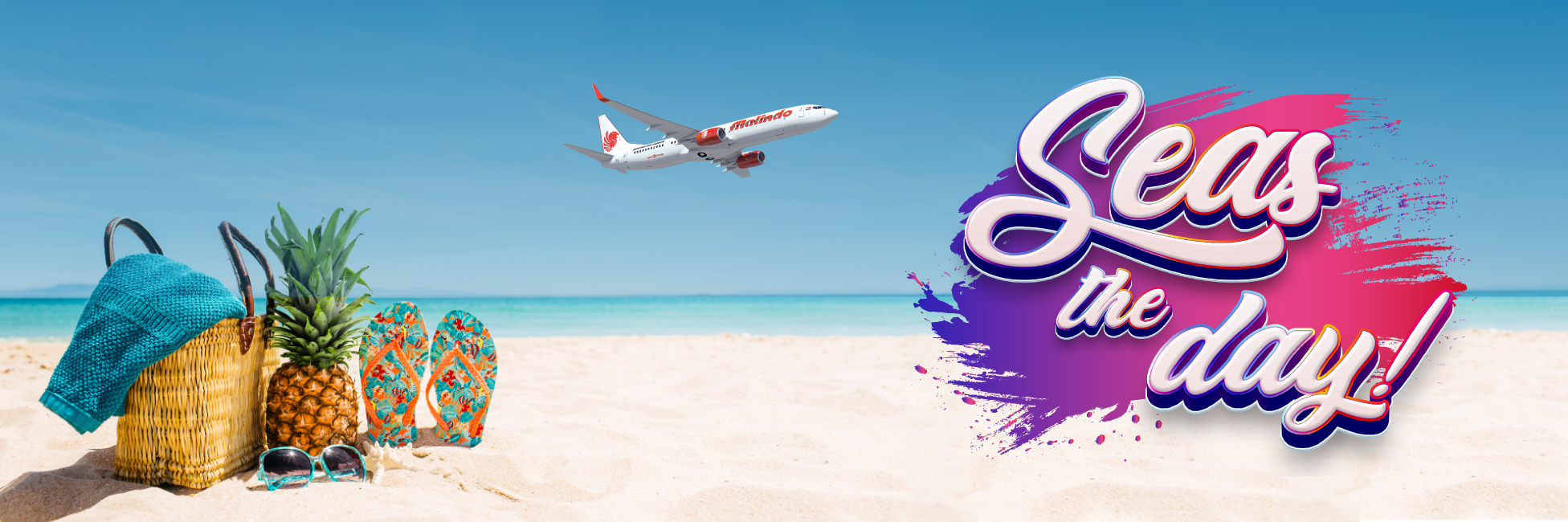 Malindo Air Seas the day! microsite seas the day