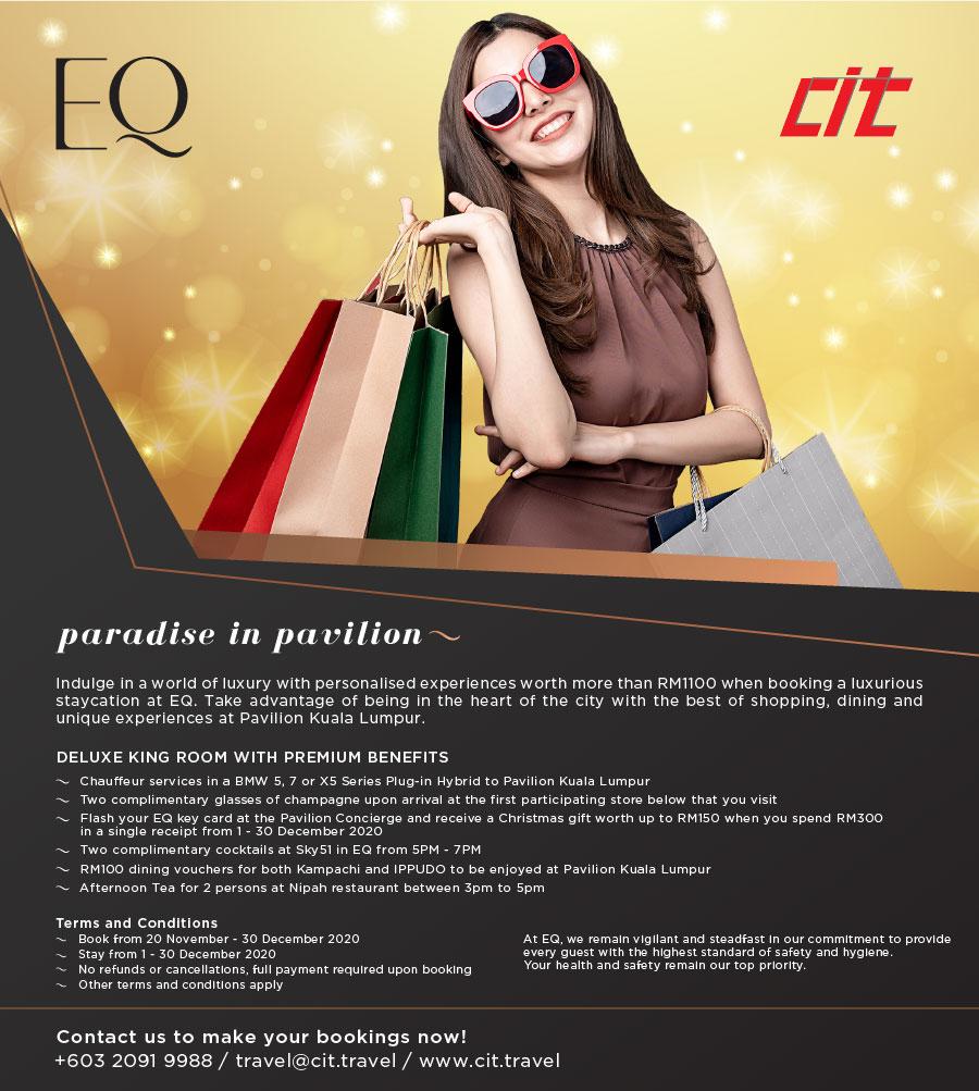 Paradise in Pavilion CIT EQ Paradise in Pavilion Flyer