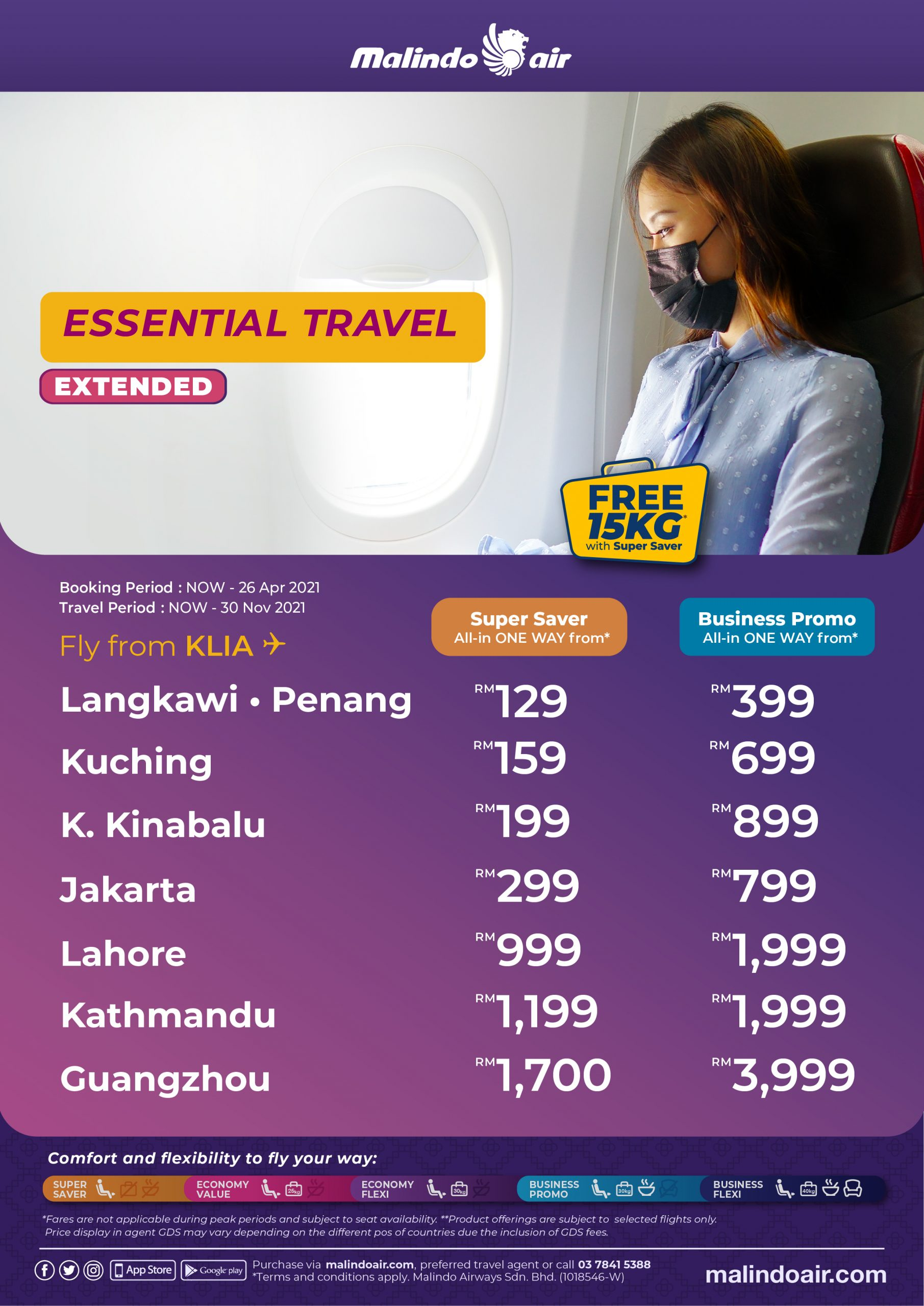 Malindo Air Essential Travel fly from KLIA ESSENTIAL TRAVEL A4 KUL scaled