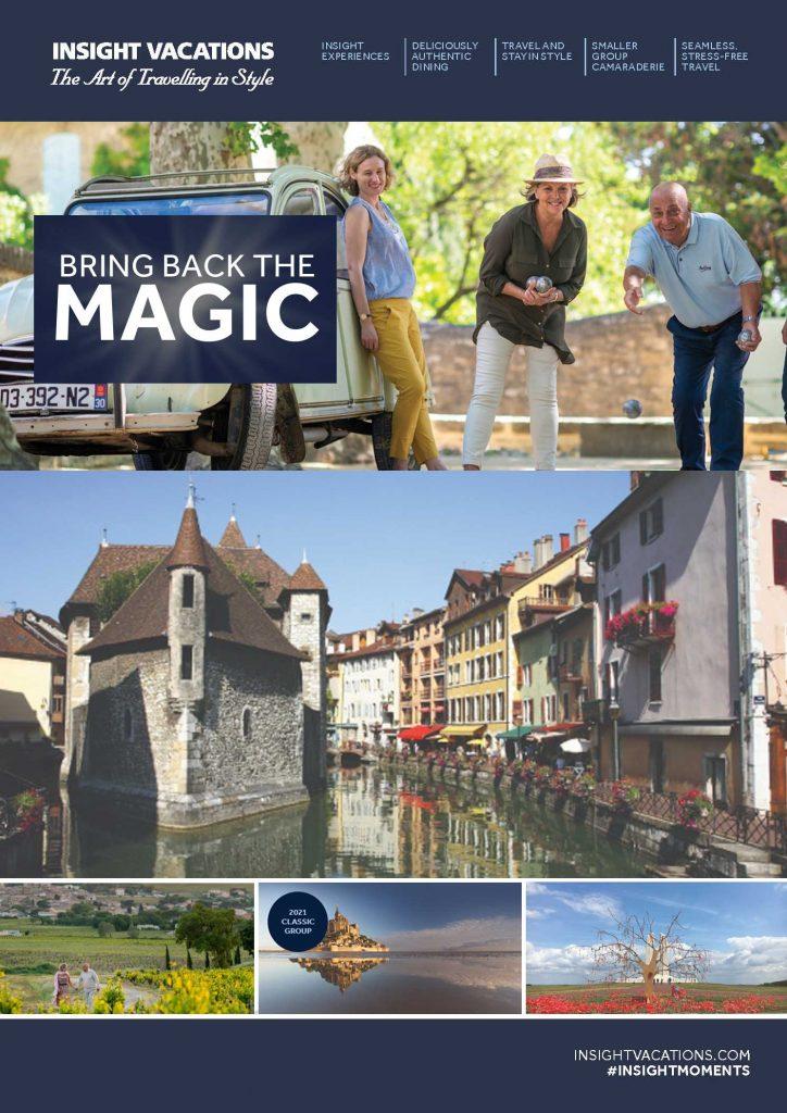 Insight Vacations IV BRING THAT MAGIC