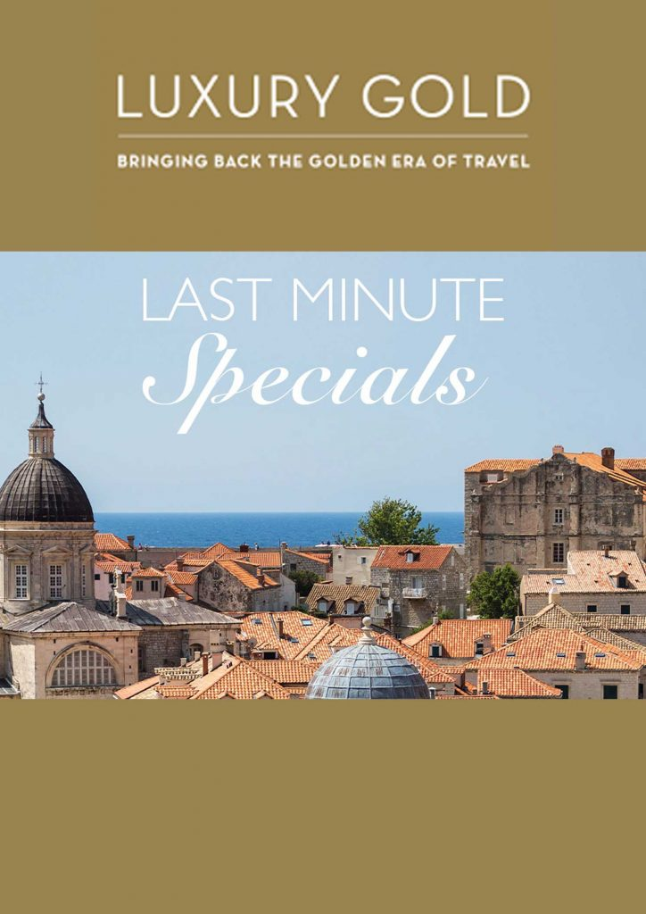 Insight Vacations Luxury Gold LastMinute Special 202106 C